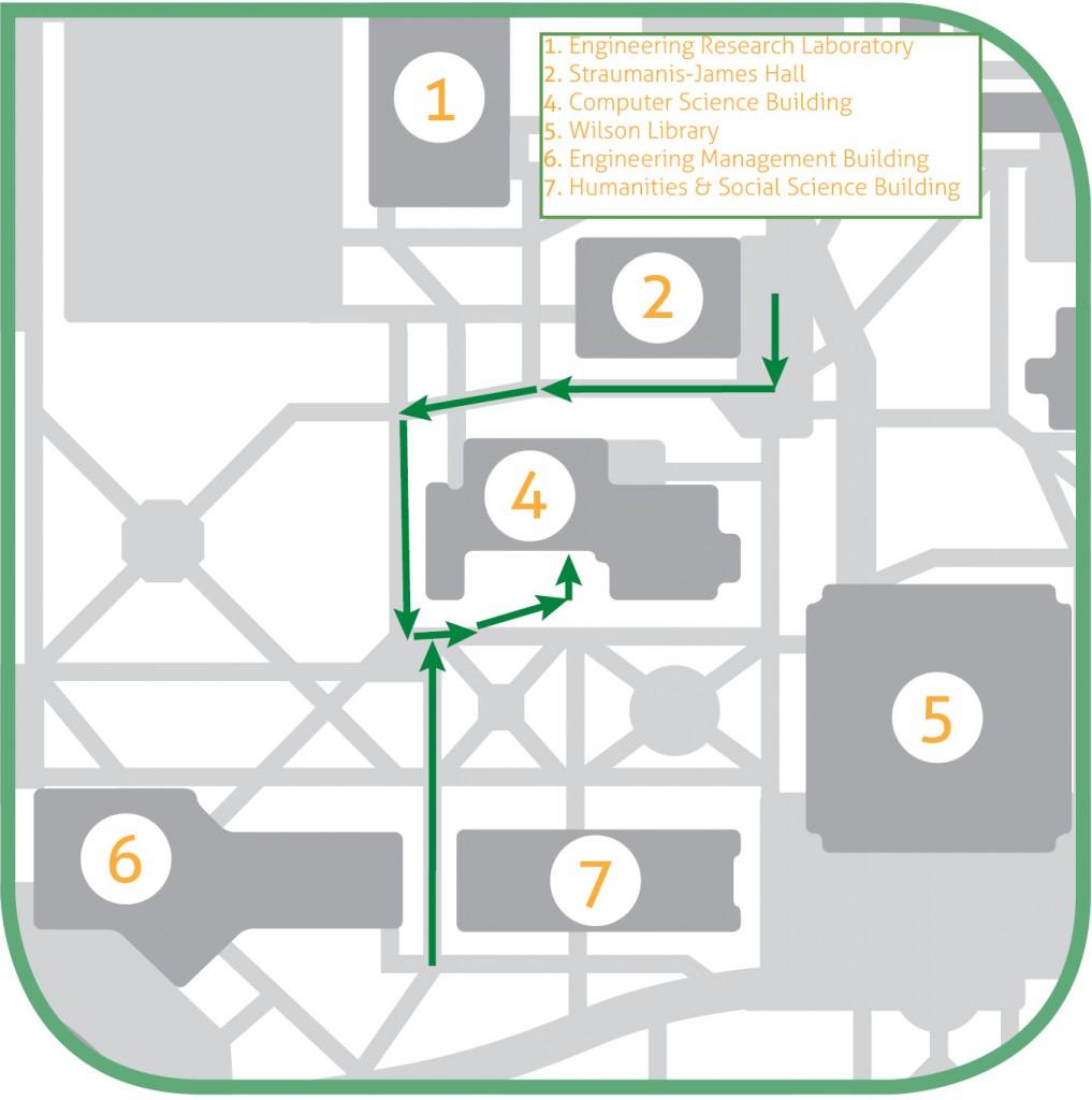 Entrance Map